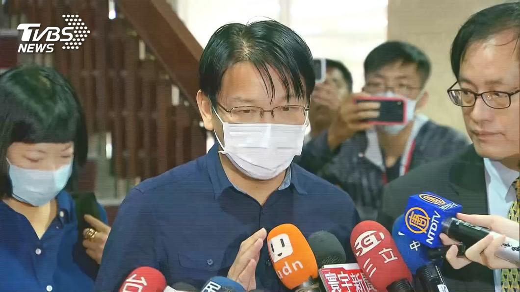 徐永明宣布退出時代力量。(圖/TVBS資料畫面) 捲收賄案!徐永明宣布退出時代力量