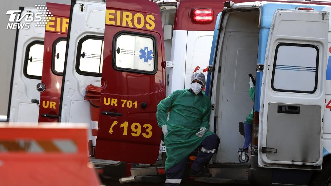 (圖/達志影像美聯社) 巴西總統府淪為重災區 178名公務人員染疫