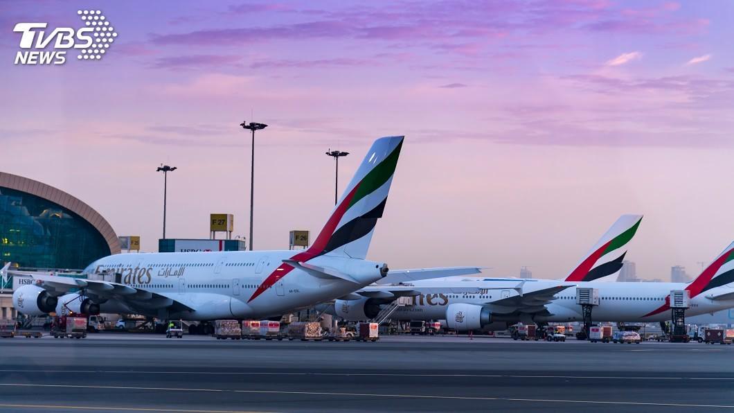 (示意圖/shutterstock 達志影像) 阿聯酋台灣航線增班 6日起客貨每週各增至4班
