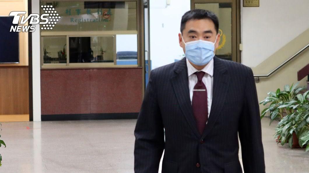 華南銀行副董事長林知延。(圖/中央社) GPS跟監案更一審 林知延拘役15天確定