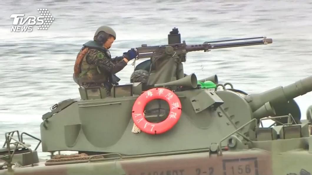 國防部表示,共軍片面破壞區域和平的行為,我軍已依規定備戰。(示意圖/TVBS資料畫面) 綠委曝「陸船隻包圍東沙島60小時」 海巡署回應了
