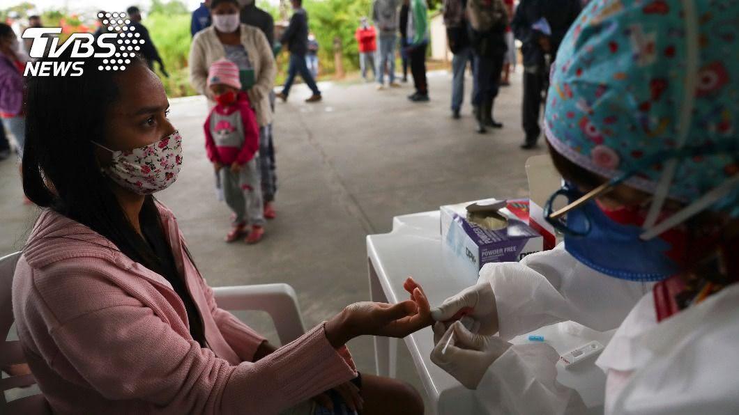 拉丁美洲超過20萬人染疫不治。(圖/達志影像路透社) 拉丁美洲超越歐洲 染疫病亡人數全球最多