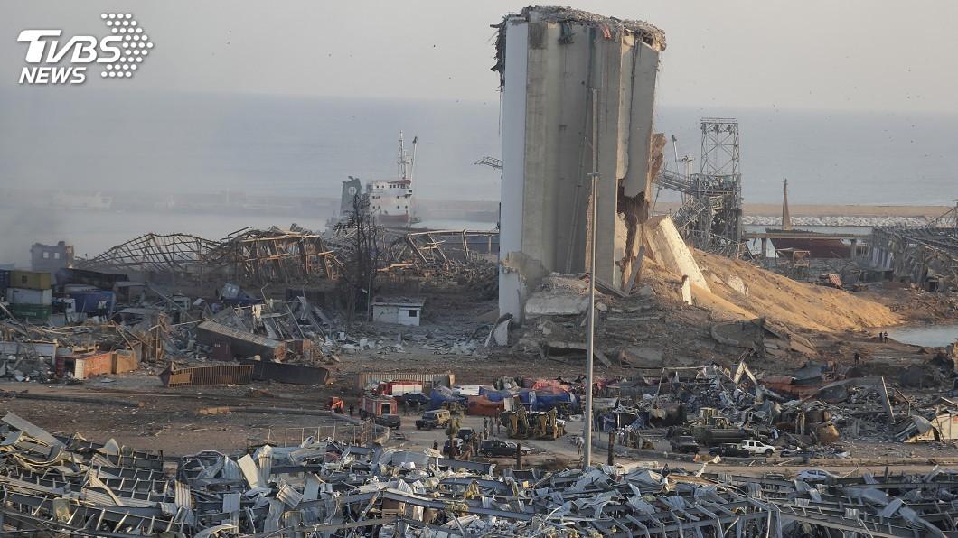 (圖/達志影像美聯社) 貝魯特大爆炸逾百死4千人受傷 疑焊接不慎引爆