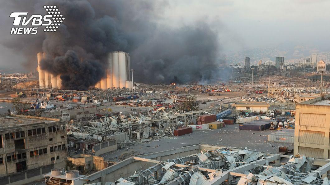 貝魯特港區如核爆現場 大爆炸釀百死四千傷