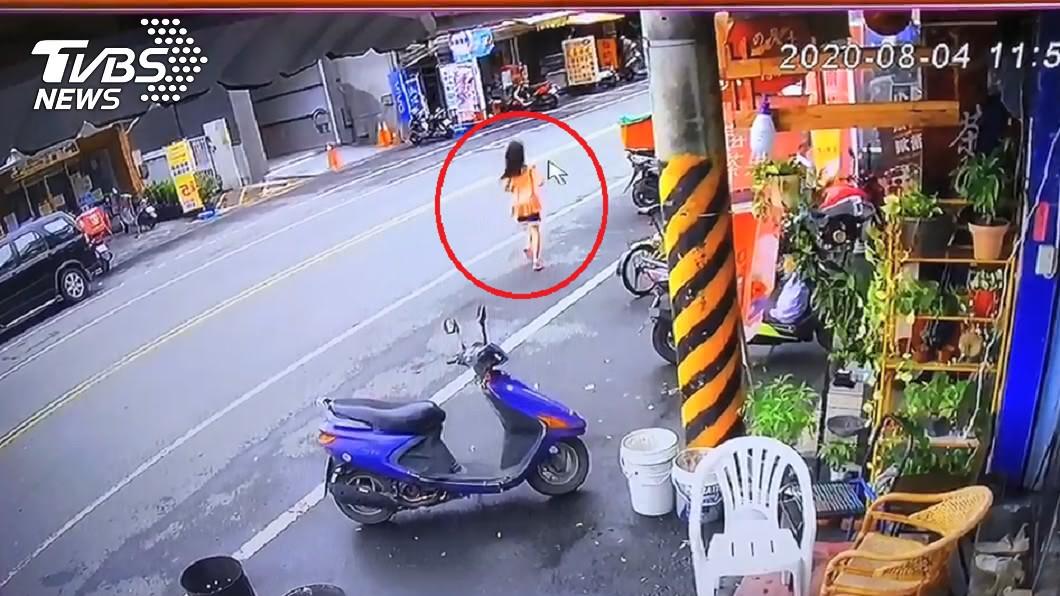 圖/TVBS 「懲罰女童追娃娃車跑」辯走失挨罵 安親班老師還原真相