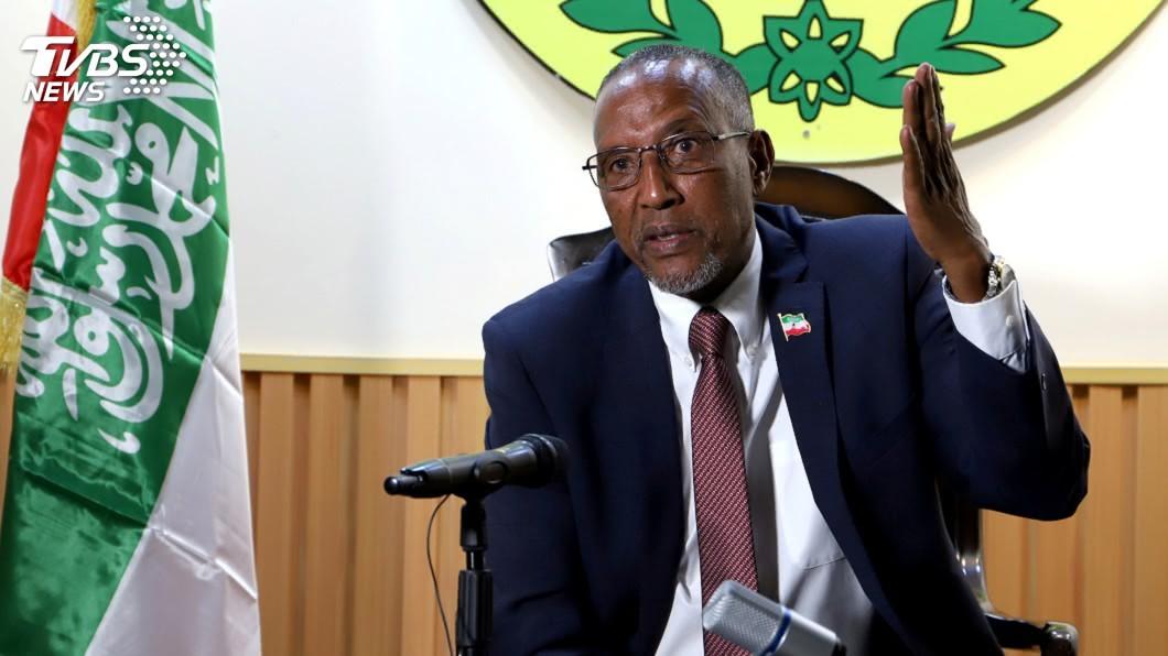 索馬利蘭紀總統阿布迪。(圖/達志影像路透社) 傳中方欲以援助換取割席台灣 索馬利蘭總統拒絕