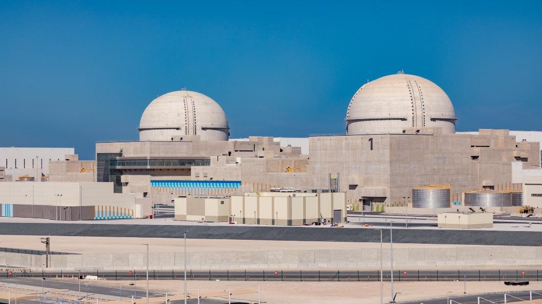 圖/截圖自 杜拜元首推特  阿拉伯世界首座核電啟用 安全引憂慮