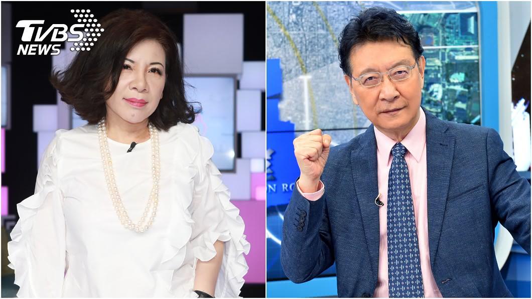 陳文茜將在TVBS《少康戰情室》與趙少康對談。(圖/TVBS) 最聰明女人遇上政論巨砲!趙少康、陳文茜睽違8個月再同台