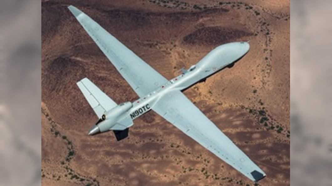 圖為MQ-9B SkyGuardian機型,「海上衛士」是「空中衛士」(SkyGuardian)無人機的建議版本。(圖/翻攝自GenAtomics_ASI推特) 傳美擬售台無人機 「海上衛士」可廣偵海面船艦