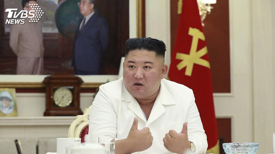 (圖/達志影像美聯社) 北韓暴雨成災糧倉泡湯 金正恩到場視察