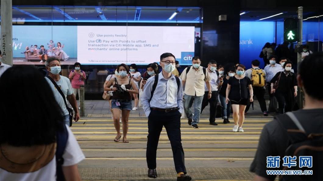 圖/翻攝自 新華網 粵澳收緊對港入境限制 要求24H核酸檢測報告