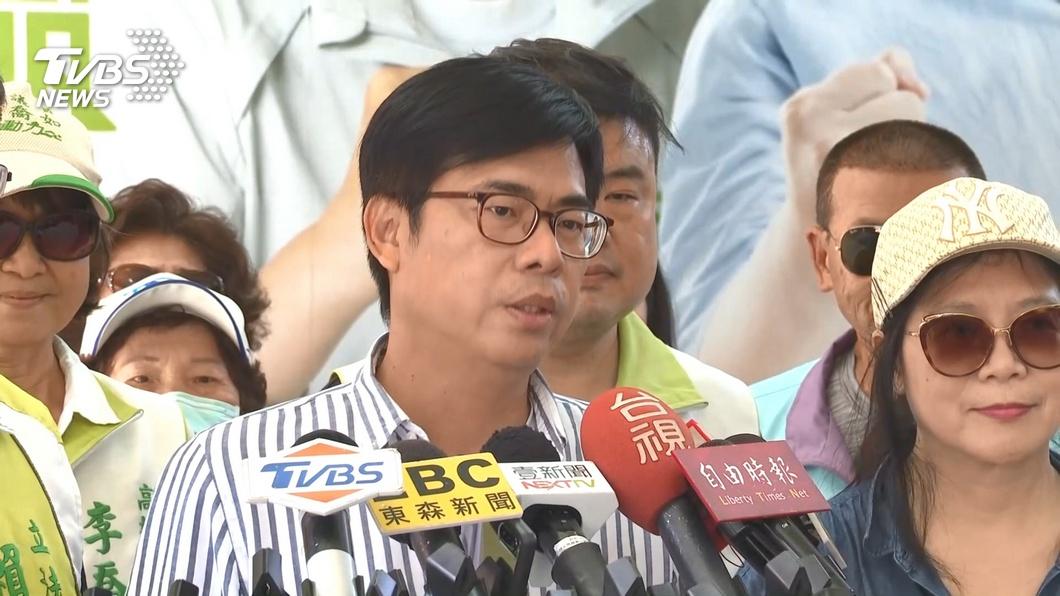 民進黨高雄市長補選候選人陳其邁。(圖/TVBS) 買廣告撐香港遭潑冷水 陳其邁:未來提供必要協助