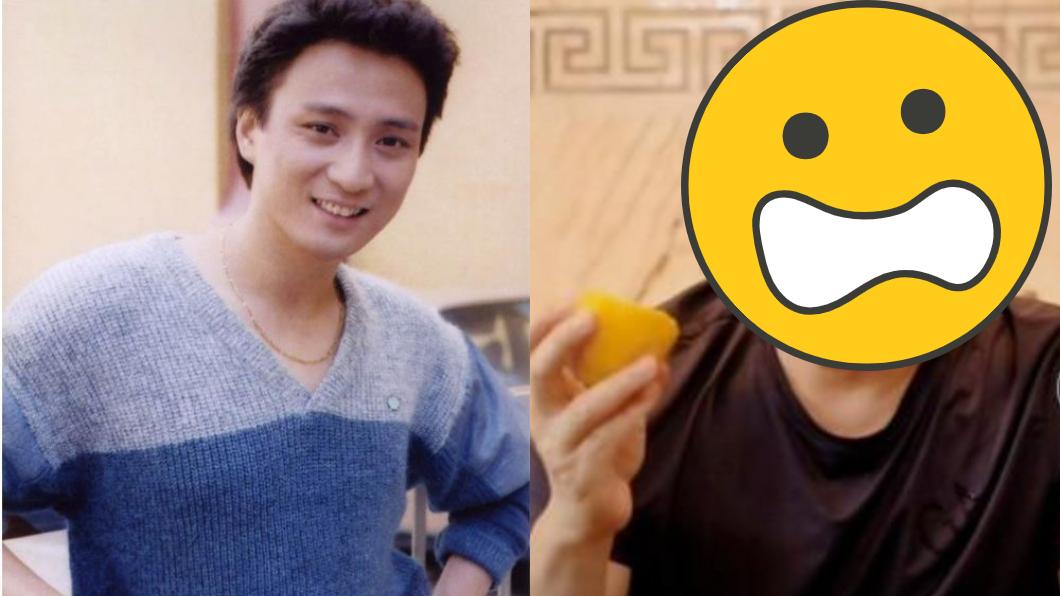 湯鎮業是當時「TVB五虎將」之一的男神。(圖/翻攝自微博) 曾比劉德華帥!五虎將第一帥崩壞 男神慘淪「油膩大叔」