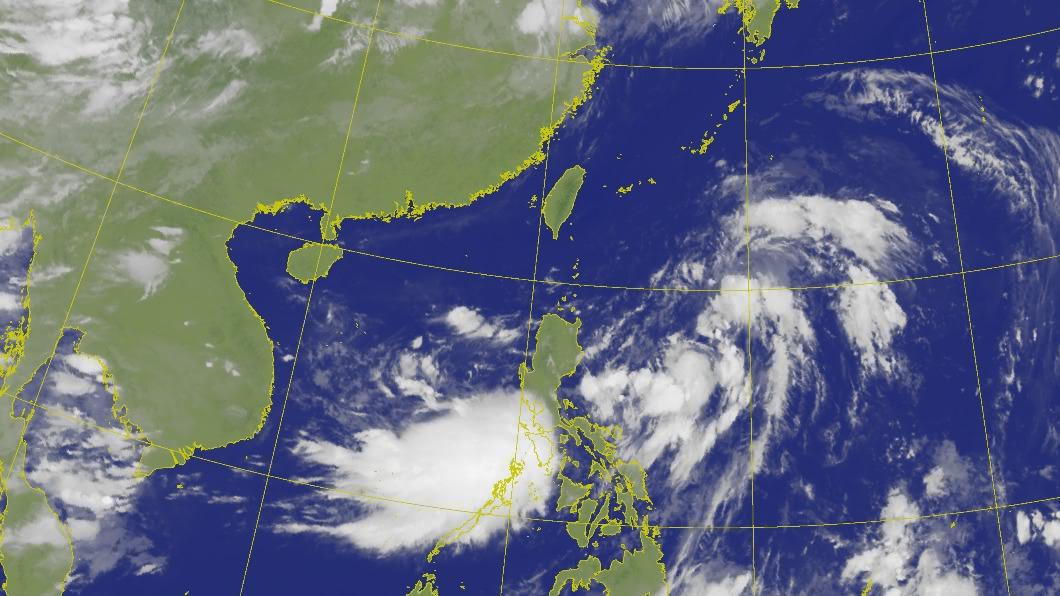 氣象局表示最快今(8)日下午增強為今年第5號颱風薔蜜。(圖/中央氣象局) 第5號颱風「薔蜜」最快下午形成 下週一嚴防豪雨