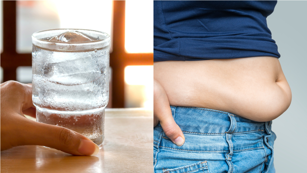 減肥醫師指出「冰水非但不會讓腹部囤積脂肪,反而可以減肥」。(示意圖/shutterstock達志影像) 喝冰水害小腹肥胖?醫打臉「反可減肥!」年瘦1.6kg