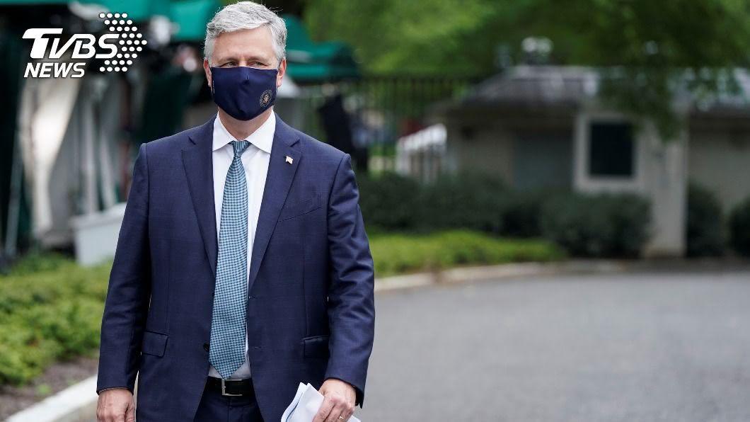 白宮國家安全顧問歐布萊恩(Robert O Brien)。(圖/達志影像路透社) 白宮國安顧問:陸駭客鎖定美國選舉基礎設施
