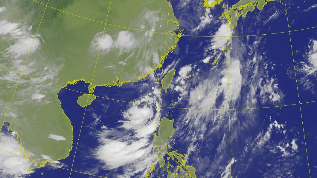 今年第6號颱風生成。(圖/中央氣象局) 颱風「米克拉」海陸警齊發 全台「雨勢最明顯」時間曝
