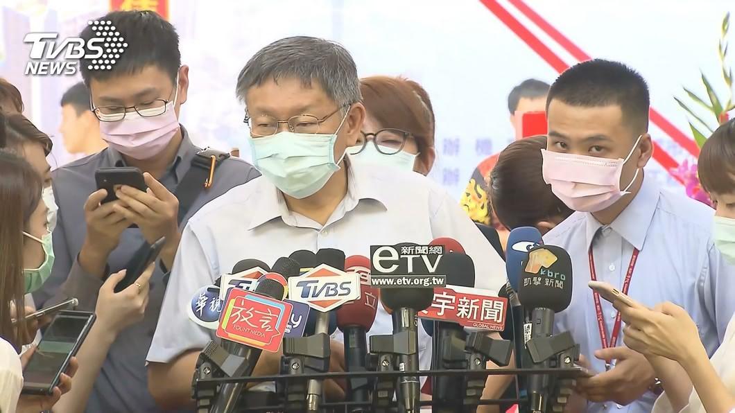 台北市長柯文哲。(圖/TVBS資料畫面) 宣導又失言? 柯文哲:中暑會死人最有名是洪仲丘