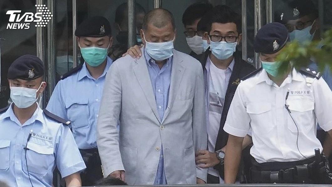 香港傳媒大亨黎智英遭港警逮捕。(圖/達志影像美聯社) 黎智英被港警逮捕 美國務卿:香港自由已遭中共毀壞