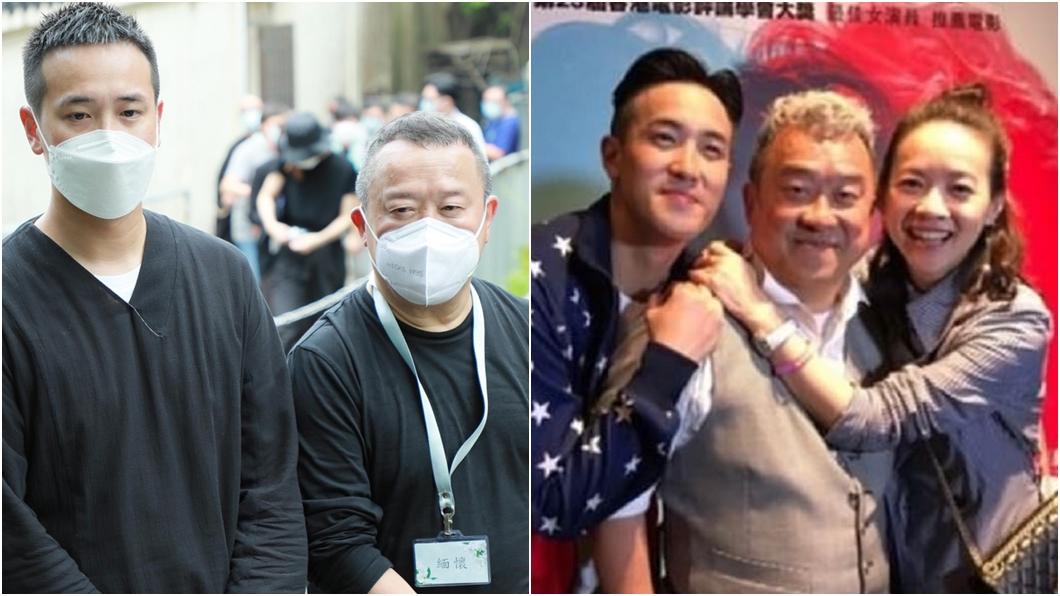 香港資深藝人曾志偉和兒子曾國祥、女兒曾寶儀。(圖/翻攝自新浪娛樂、曾國祥微博) 分居20年妻「多種癌症」纏身病逝 曾志偉終於發聲了