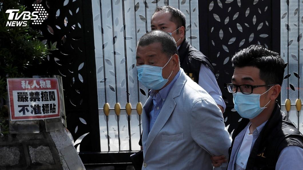 (圖/達志影像路透社) 黎智英被捕 白宮國安顧問促北京廢除港區國安法
