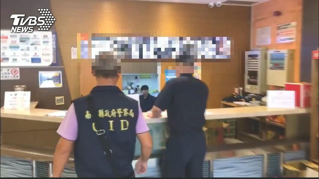 南投KTV昨天發生鬥毆。(圖/TVBS) 南投市KTV傳聚眾鬥毆 警方將加強臨檢連續掃蕩