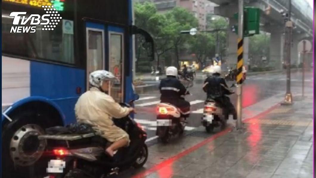 (示意圖/TVBS) 北北桃大雷雨!「淹水警戒區」出爐 15縣市豪、大雨