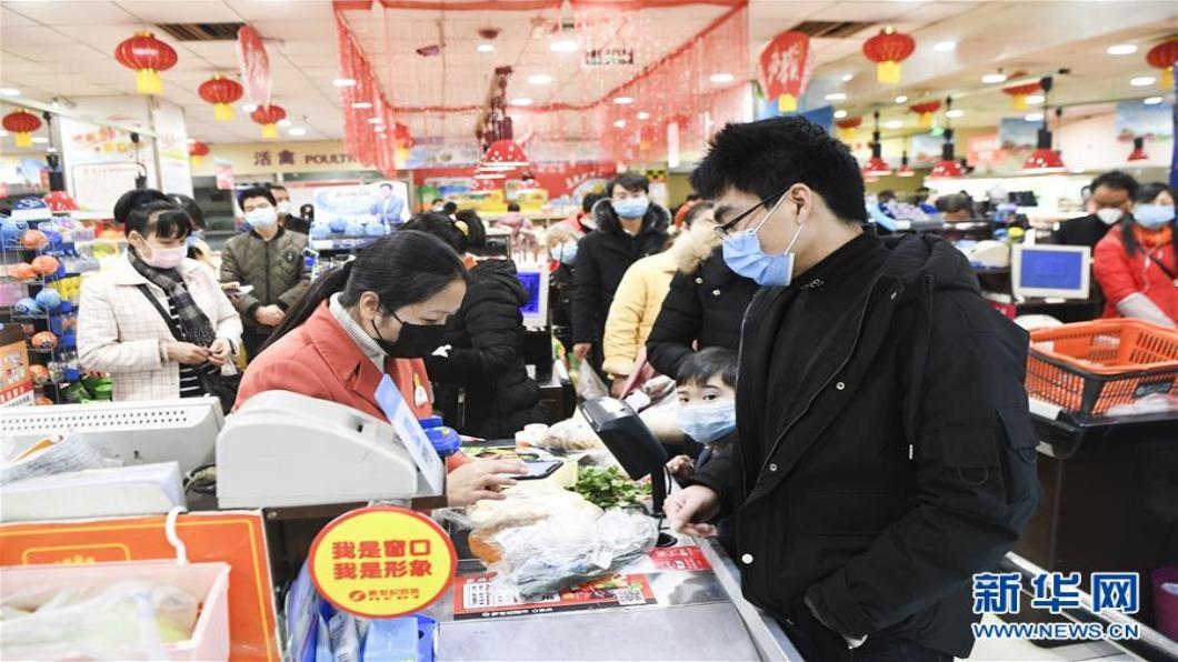 圖/翻攝自 新華網 大陸7月CPI年增2.7% 創近三月新高.通縮趨緩