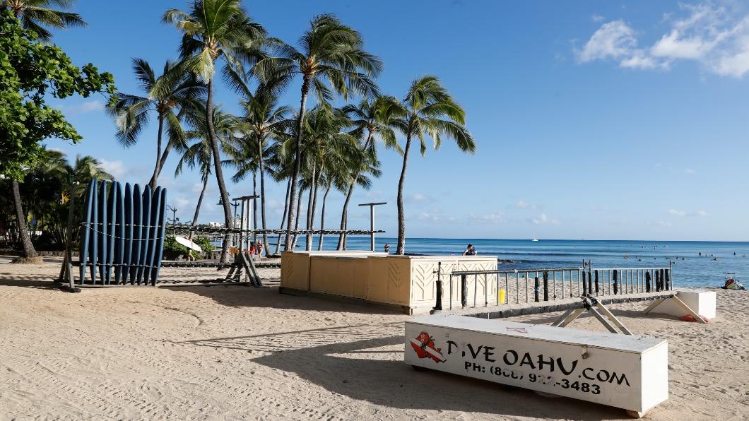 圖/達志影像路透 遠距上課享樂風潮 住夏威夷飯店兼開趴