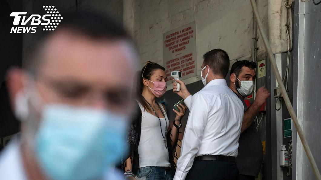 法國、希臘武漢肺炎疫情升溫。(圖/達志影像美聯社) 法國、希臘武漢肺炎疫情未歇 新增病例刷新紀錄