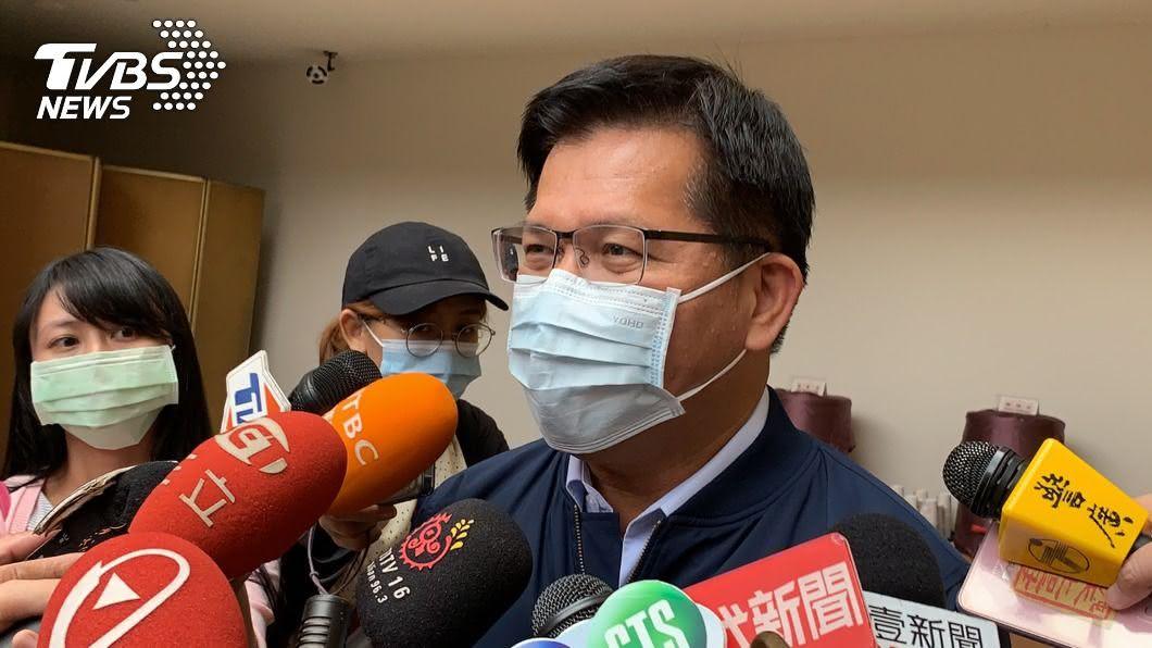 交通部長林佳龍。(圖/中央社) 普悠瑪事故滿2年台鐵又出包 林佳龍提5大要求
