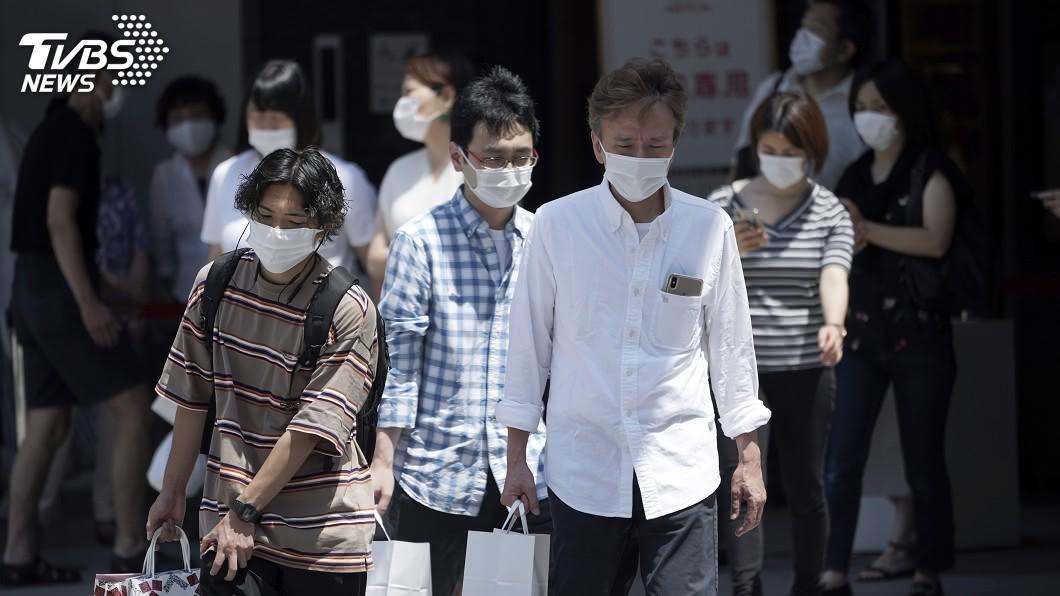 日本新增979例武漢肺炎確診。(圖/達志影像美聯社) 日本添979例武漢肺炎確診 東京增2處療養旅館