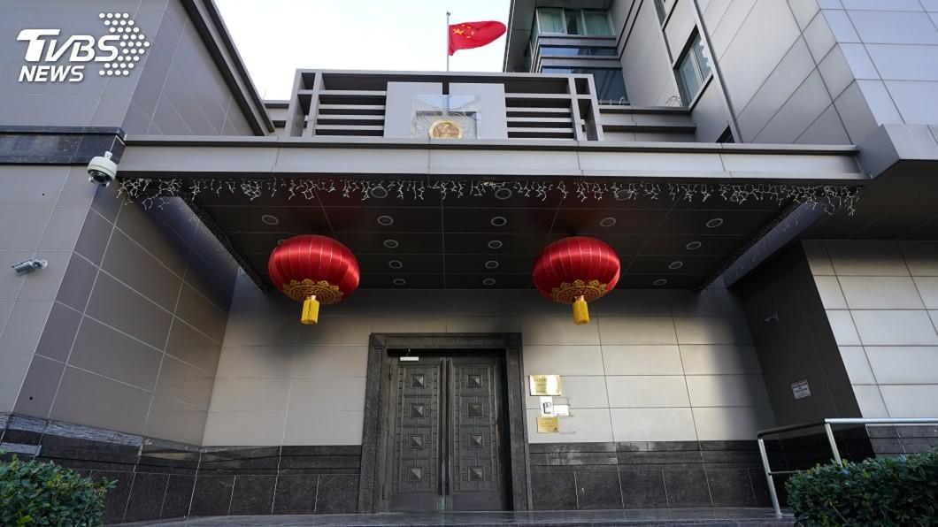 (圖/達志影像美聯社) 中國駐休士頓總領事館疑涉竊美智財 FBI監視已久