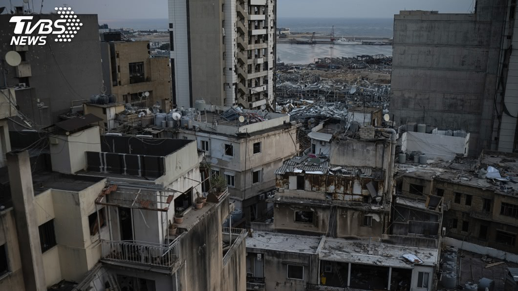 (圖/達志影像美聯社) 貝魯特爆炸損失近4500億 半數醫療設施不堪使用