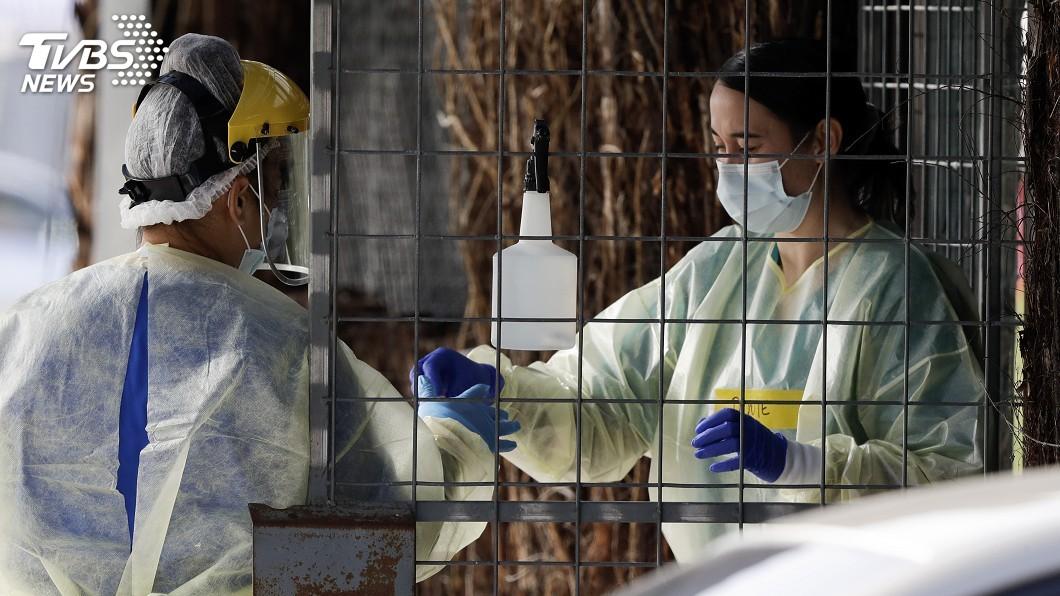 紐西蘭新增14人確診。(圖/達志影像美聯社) 紐西蘭新增14人確診 奧克蘭重新封鎖急找感染源