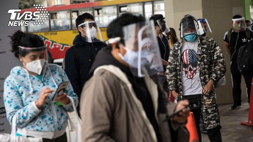 (圖/達志影像美聯社) 秘魯染疫人數激增 當局再祭宵禁並限制家庭聚會