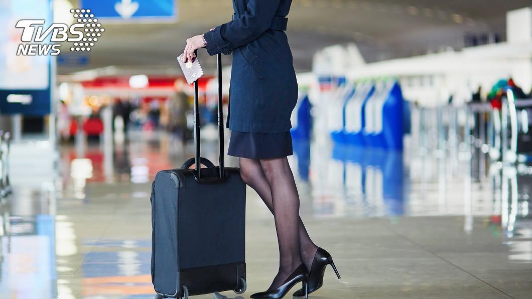 空服員示意圖/shutterstock 達志影像  機長室最髒!前空姐揭「禁忌術語」曝極樂潛規則