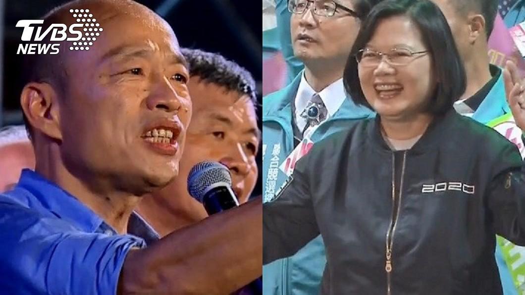 高雄市長補選的選前之夜,被視為蔡英文和韓國瑜再次對決。(圖/TVBS資料照) 訂車票還來得及!「選前之夜」再戰韓國瑜小英喊話了