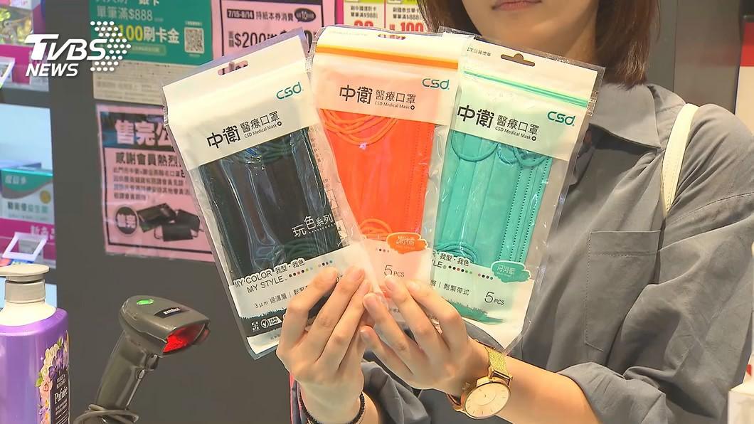 (圖/TVBS資料畫面) 買不到被網罵翻! 中衛「高級色口罩」再開賣時間曝光