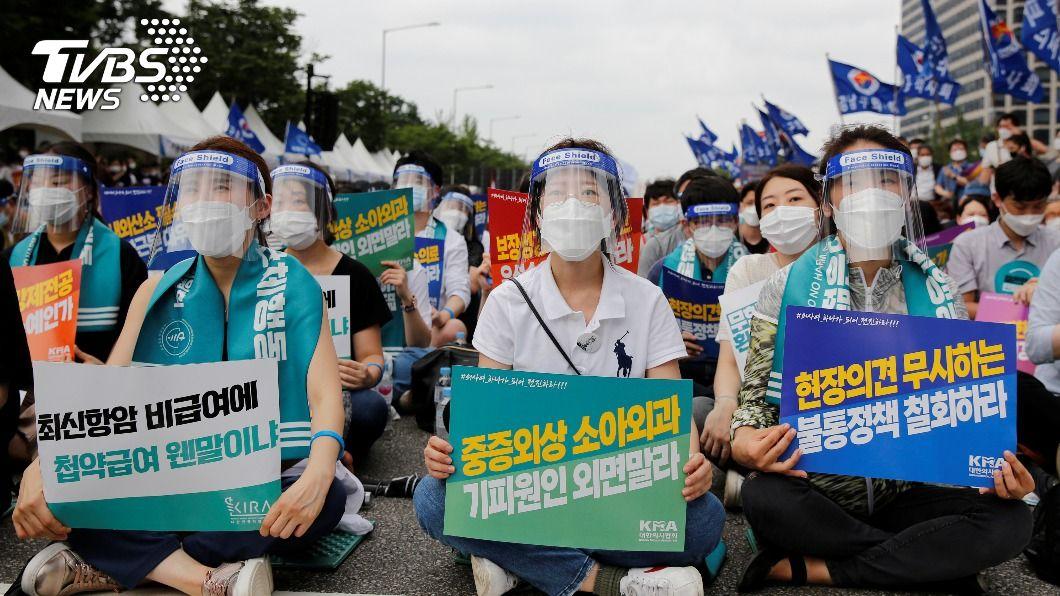 圖/路透社 南韓又爆「教會群聚」 急頒社交距離禁令