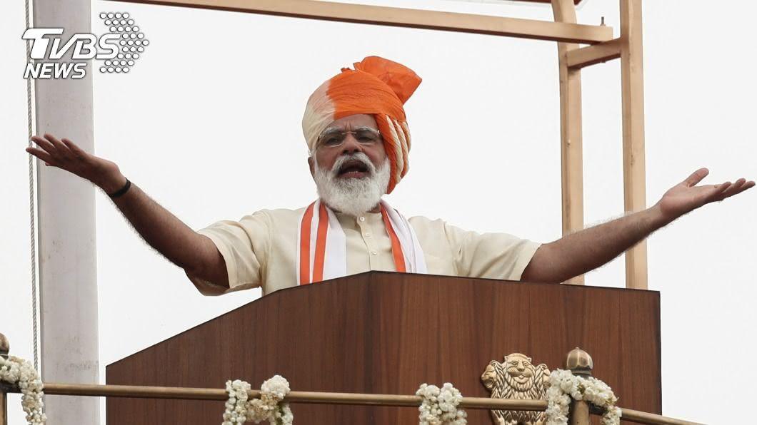 印度總理莫迪。(圖/達志影像路透社) 印度將撒1.46兆美元 建基礎設施振興經濟