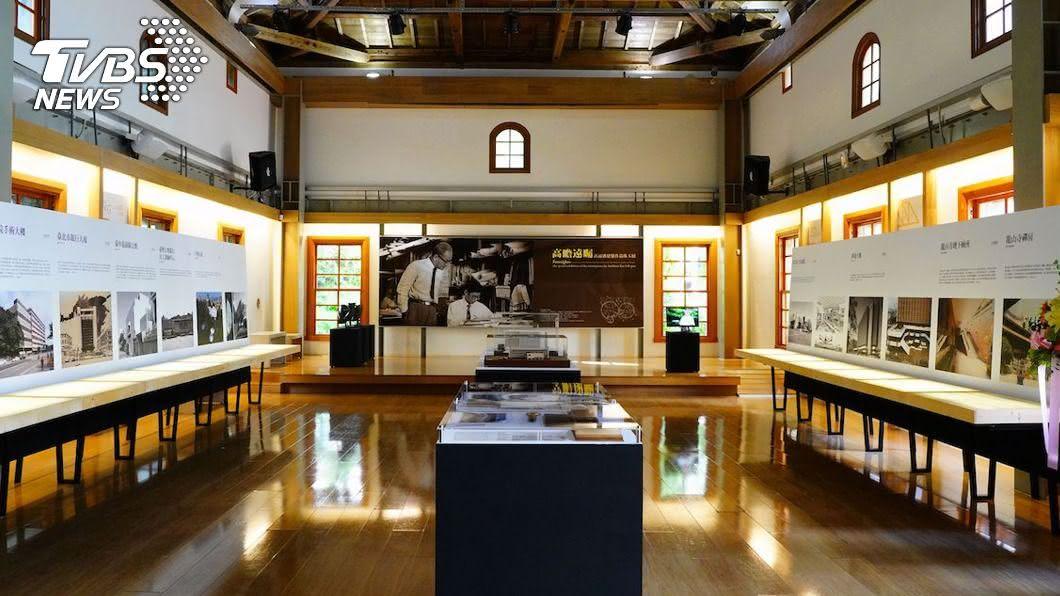台博館舉辦高而潘建築展。(圖/台博館提供) 二戰後第一代建築師 高而潘作品反映台灣社會進展