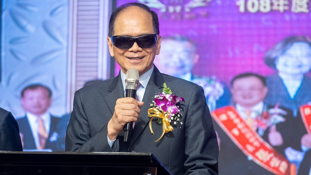 圖/游錫堃辦公室提供 近兩周首個公開行程!游錫堃「全程戴墨鏡」原因曝光