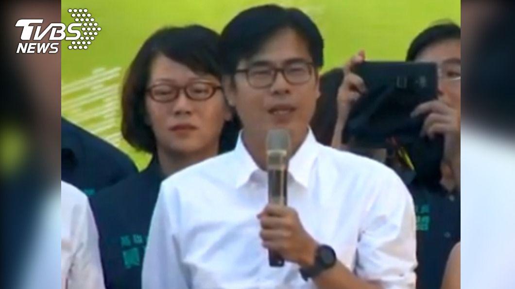 陳其邁當選高雄市長。(圖/TVBS) 高雄市長的最後一哩路 陳其邁為圓夢走了15年