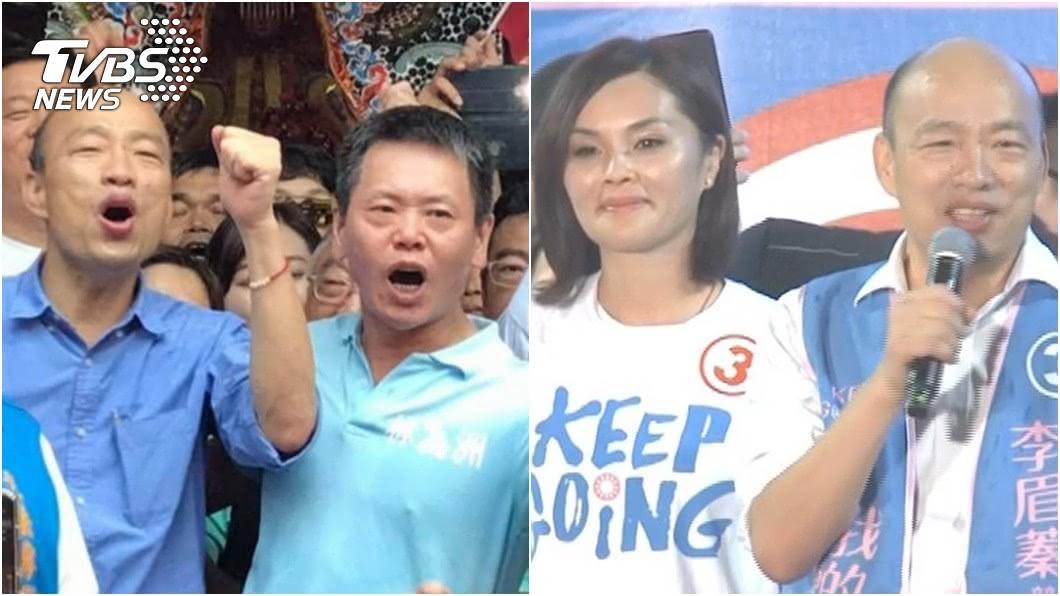 立法院黨團總召林為洲(左圖右)認為國民黨應該告別韓流。(圖/TVBS資料畫面) 林為洲喊告別韓流 他嗆講X話:韓站台才能破20萬票
