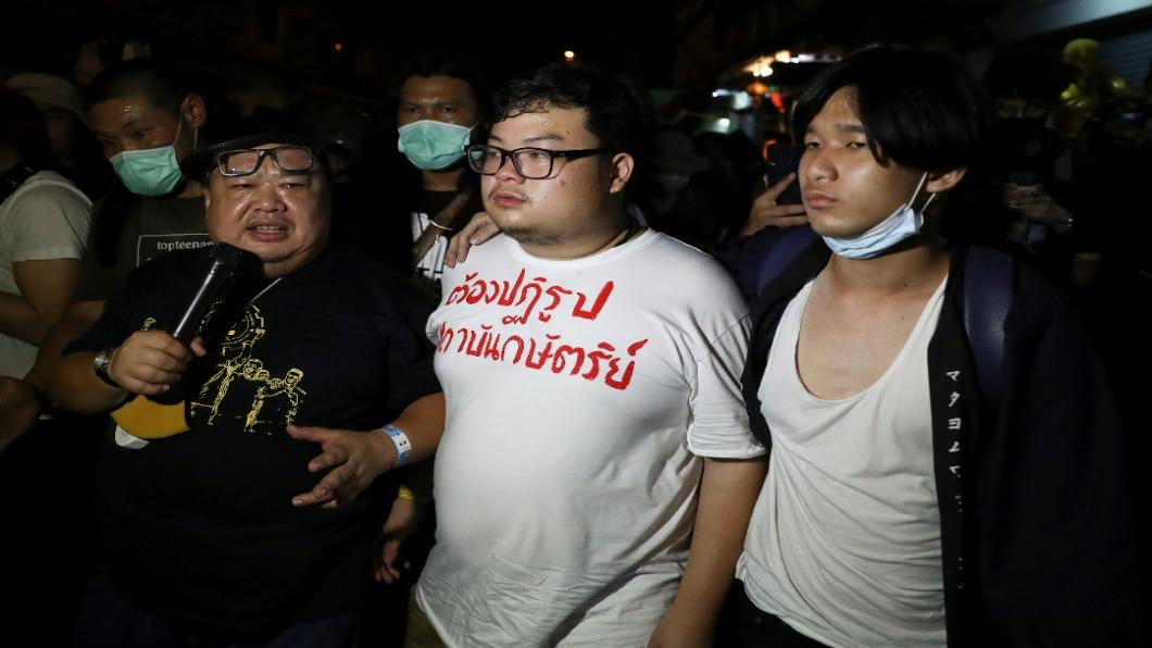 圖/達志影像路透 泰國爭民主!學運萬人上街.六年來最大