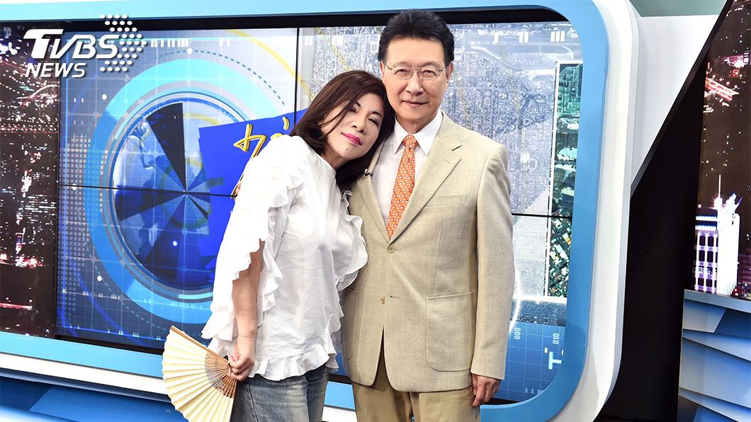 陳文茜親自曝光和趙少康的情誼。(圖/TVBS資料畫面) 趙少康重返國民黨 陳文茜親曝兩人情誼