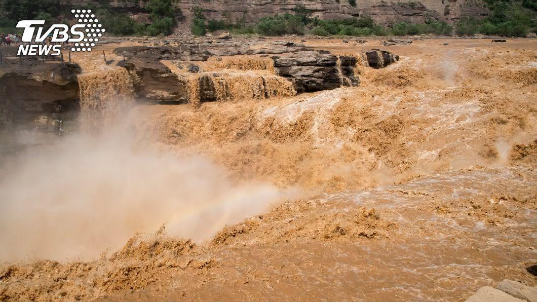 (示意圖/shutterstock 達志影像) 大雨下不停!黃河發生年度第5號洪水 長江也祭紅色預警