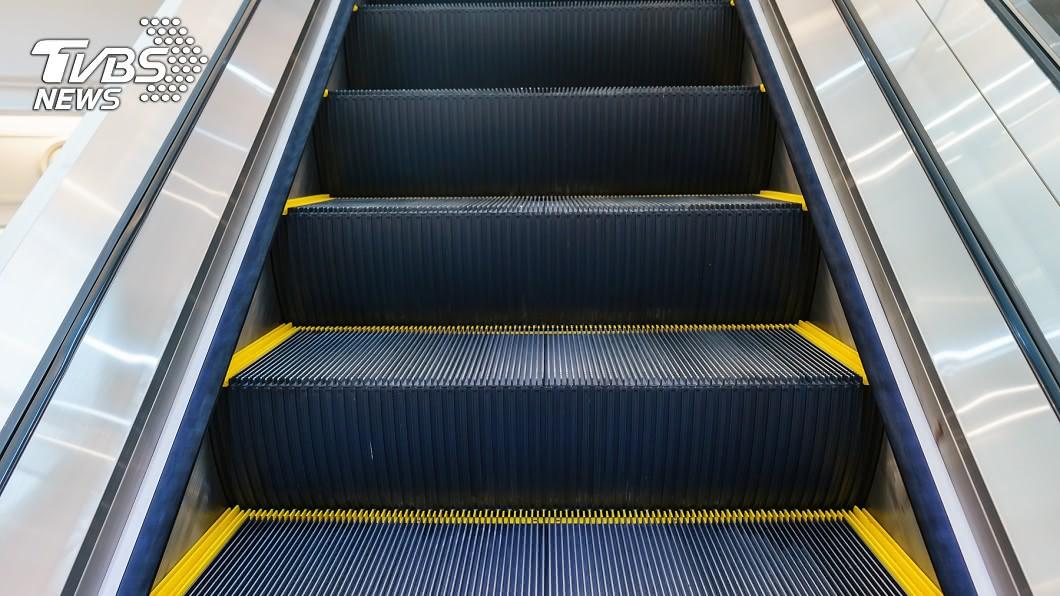 電扶梯示意圖/shutterstock達志影像 「每個人都在瞪你!」北捷搭電扶梯靠左站 教授慘被羞辱