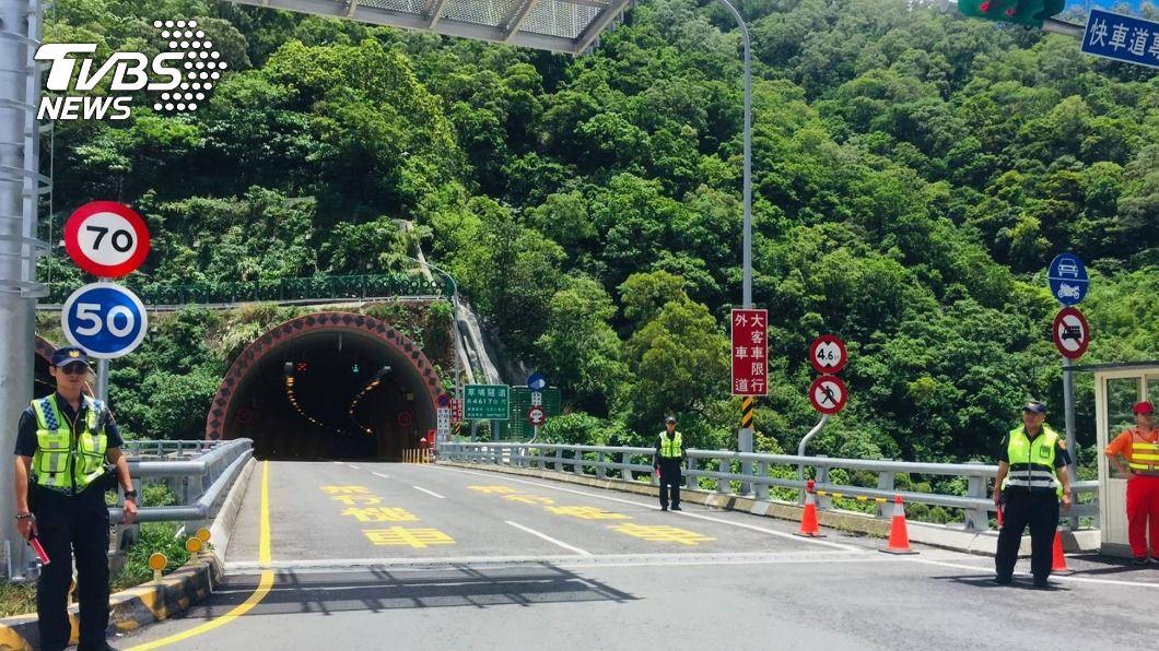 (圖/屏東縣警局提供) 屏縣十大超速路段 草埔隧道109年達1.3萬件奪冠